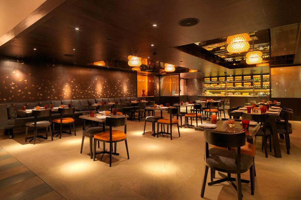 Indian restaurant design in india joy studio