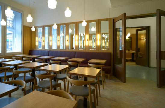 Whitechapel Gallery Dining Room, London is Now Officially Open!