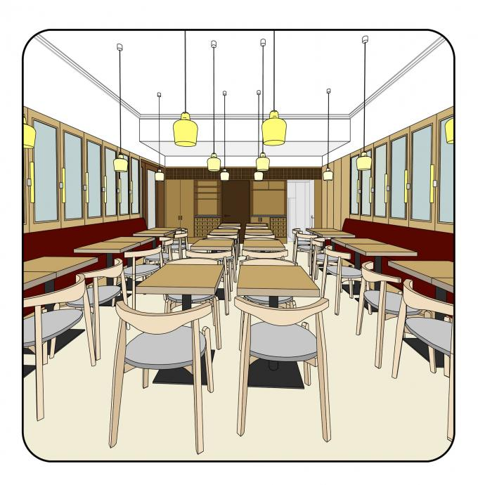 Whitechapel Dining Rooms | Project Orange