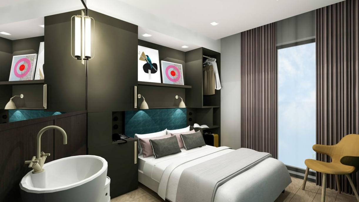 New International Hotel Concept