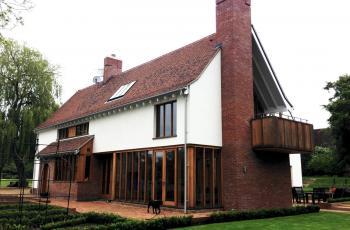 West Stow Lodge Landscape