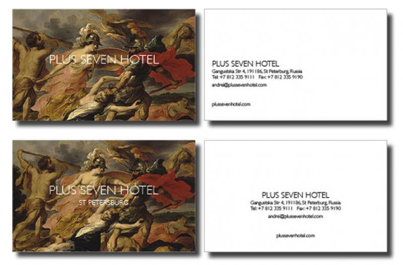 Plus Seven Hotel Graphics