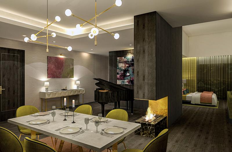 Fitzwilliam Hotel Suit Concept Goes On Site