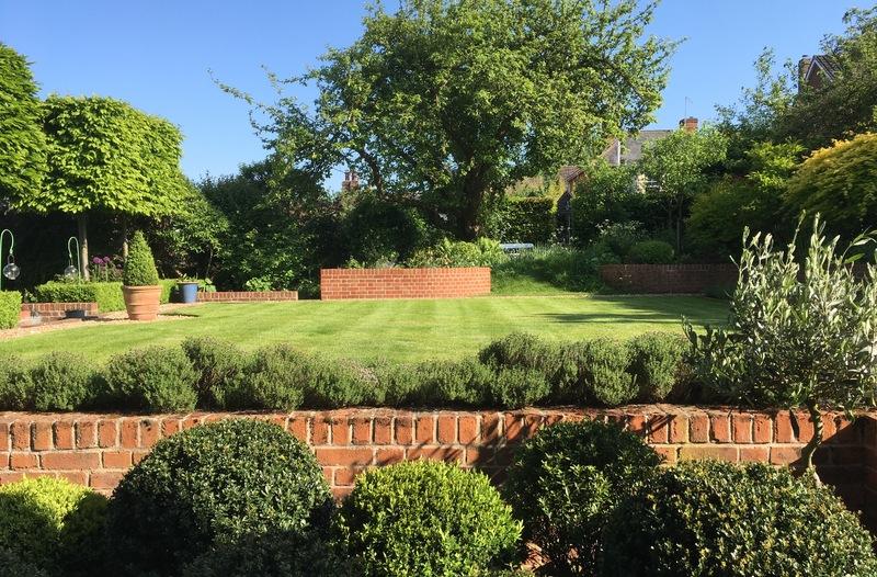 "Orange Cottage Garden open to the public as part of ""Lavenham's Hidden Gardens'"
