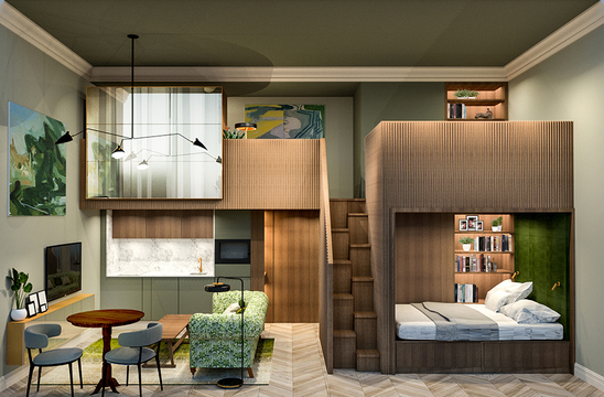 Project Orange submits entry for new hotel competition