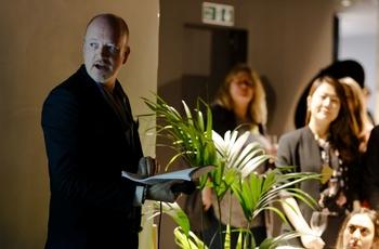 James speaks at Hotel Designs' Meet Up London event