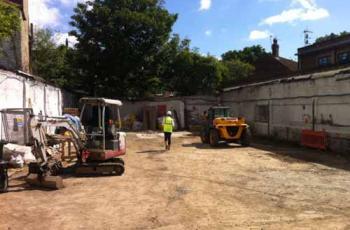 Barnes High Street gets underway!