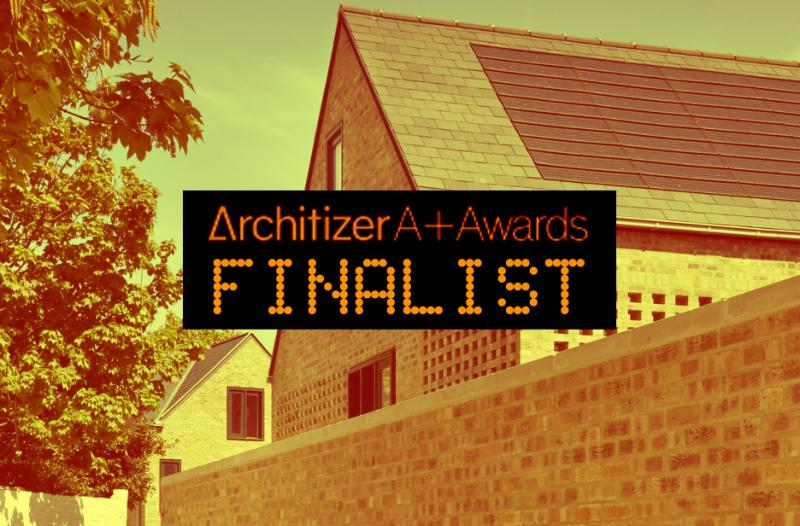 Architizer A+Awards finalist!