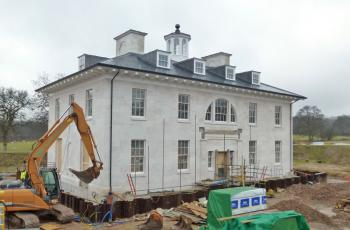 Site Progress: New-build residence Berkshire