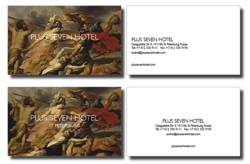 Plus Seven Hotel Graphics