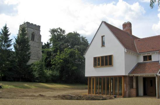 Practical Completion for West Stow Lodge!