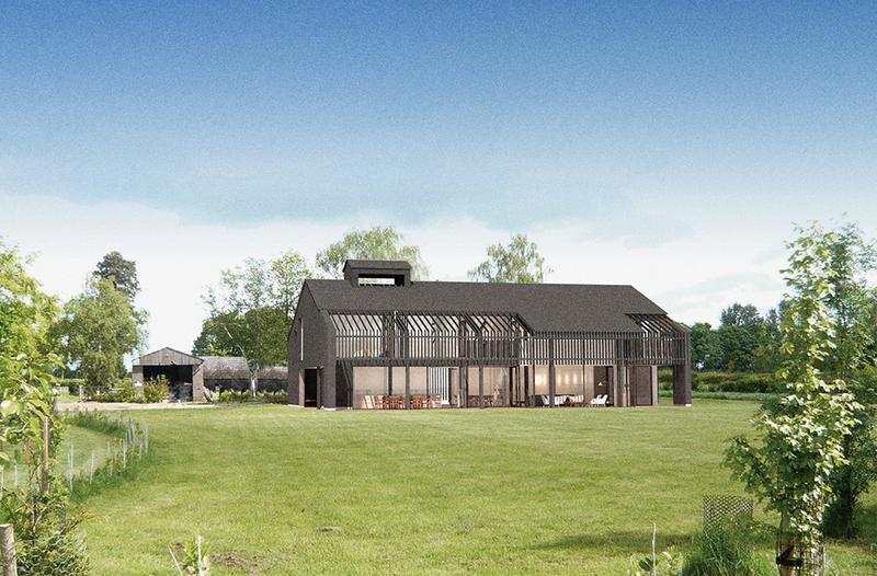 Project Orange begins work on rural barn conversion