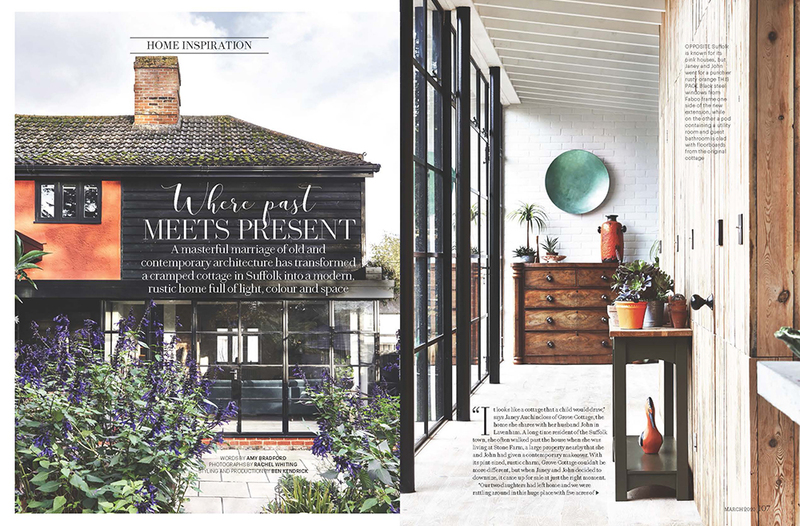 Grove Cottage features in Country Living