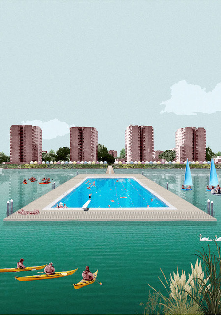 Thamesmead Green and Blue Strategy / Living in the Landscape
