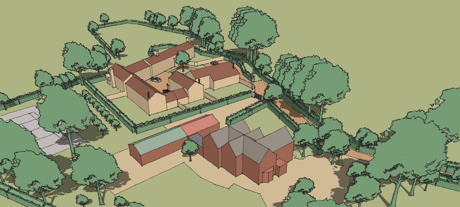 Ashbocking Houses