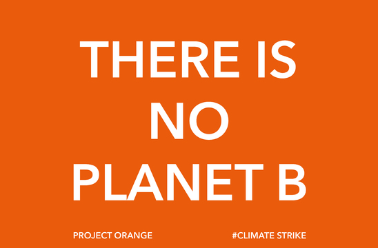 Project Orange Joins The Climate Strike!