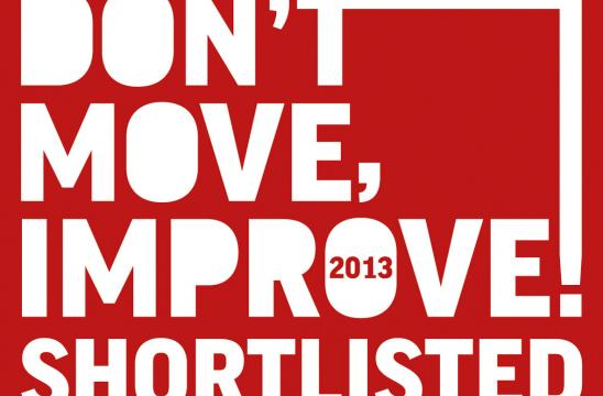Shorlisted for Don't Move Improve 2013