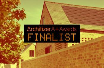 Architizer A+Awards finalist!